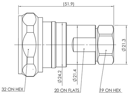APNC-12HF-DM dim