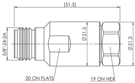 APNC-12HF-NF dim